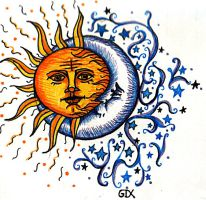 sun_moon_tattoo_by_faerone